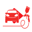 Bate-Chapa, Pintura e Detalhe Automóvel